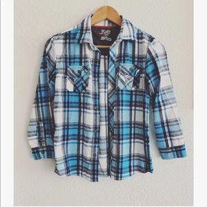 Joe Fresh flannel boys sz: Large